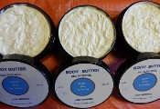 Medium (4oz) body butters - in glass jars